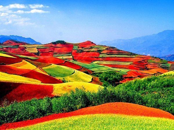 东川红土地最佳摄影时间,创作一定要选对时间